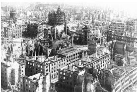 Alemanha destruída pela guerra