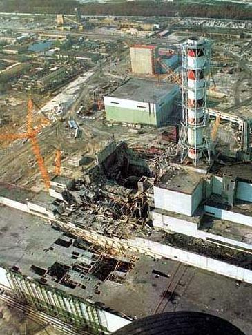 Destruição de Chernobyl