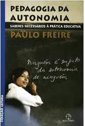 Livro Pedagogia da Autonomia de Paulo Freire