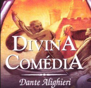 Capa do livro - Divina Comédia