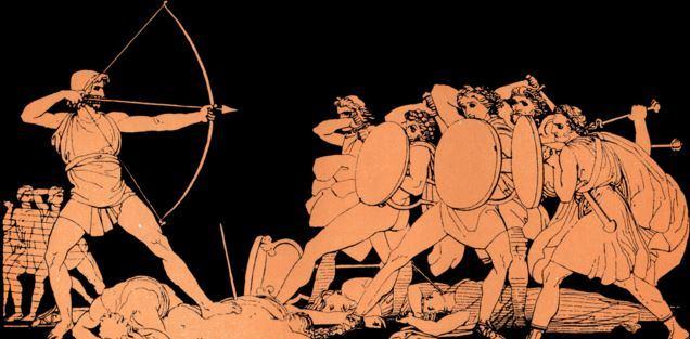 Ulisses em Odisseia de Homero