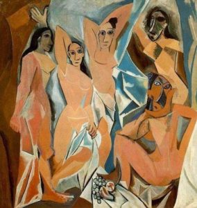 Pintura da arte moderna