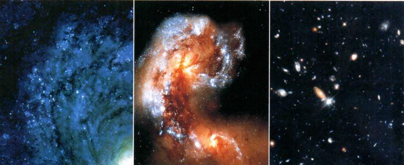 Imagens de galáxias