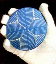 Placa usada no efeito fotoelétrico