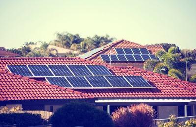 Energia solar em casas
