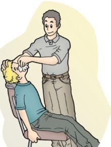 Primeiros socorros para hemorragia nasal