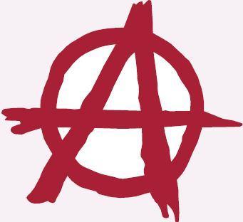 Símbolo do anarquismo.