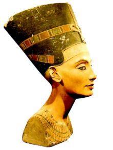 Escultura do Egito Antigo.