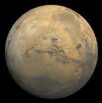 Planeta Marte.