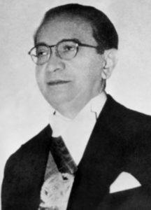 Retrato presidencial de Café Filho.