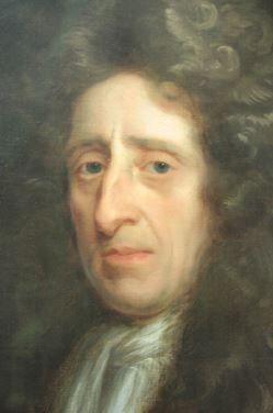 Retrato de John Locke.