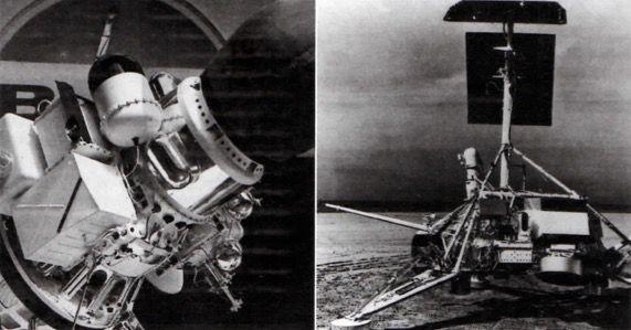 Primeiras naves que conquistaram a Lua.