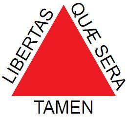 Bandeira da Inconfidência Mineira.