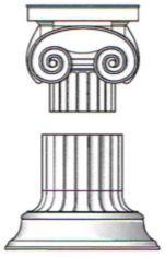Coluna da ordem dórica