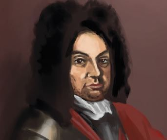Retrato do líder da Revolta de Beckman,
