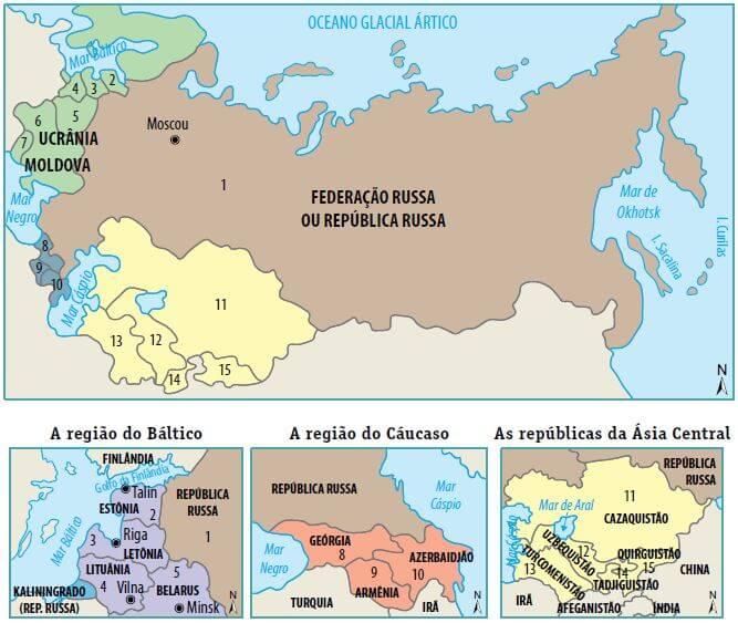 Formação da URSS.