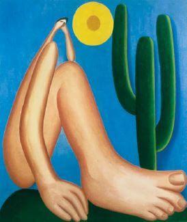 Pintura da primeira fase modernista brasileira.