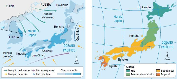 Clima do Japão.