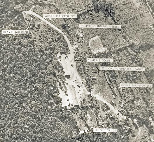 Área dos mísseis em Cuba