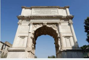 Arquitetura dos arcos romanos