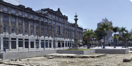 Exemplo de patrimônio cultural material do Brasil.