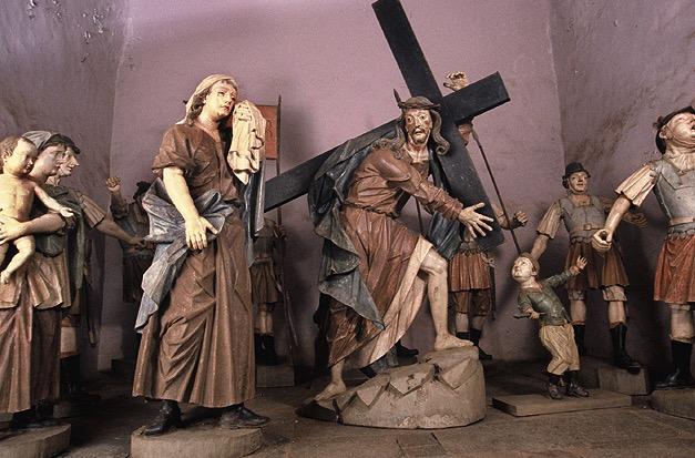 Escultura de Aleijadinho.
