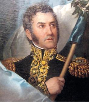 Retrato de José Francisco de San Martín.