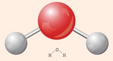 2 oxigênios e 1 hidrogênio.