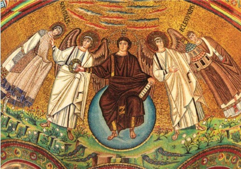Mosaico bizantino.