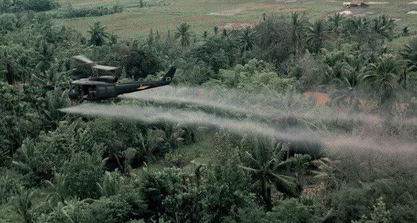 Foto da Guerra do Vietnã.
