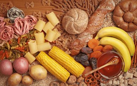Alimentos com Glicídios
