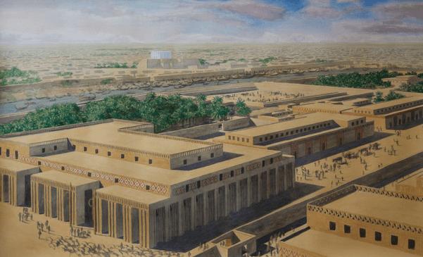 Cidade de Mesopotâmia