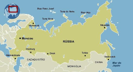 Formação Territorial Russia