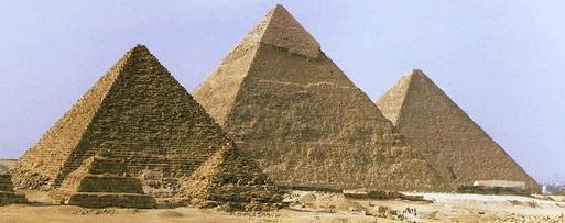 Foto das Pirâmides