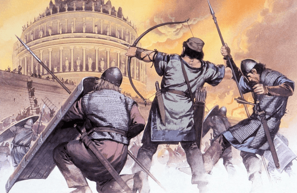 Invasão do Império Romano