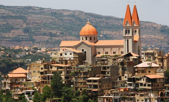 Paisagem do Líbano