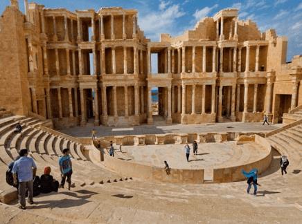 Teatro Romano Líbia