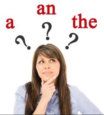 Dúvidas sobre os artigos em inglês