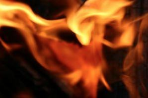 Propagação do calor através do fogo