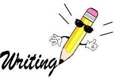 Lápis escrevendo em inglês