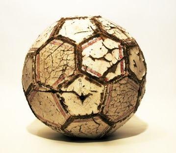 Bola de futebol antiga