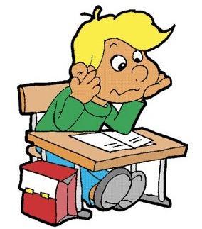 Estudante interpretando um texto