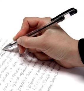 Escrevendo uma redação