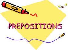 Preposições do inglês