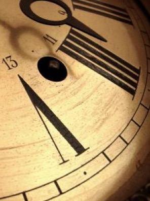 Relógio representando o tempo.