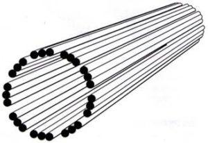 Representação de um centríolo