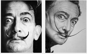 Retratos de Salvador Dali