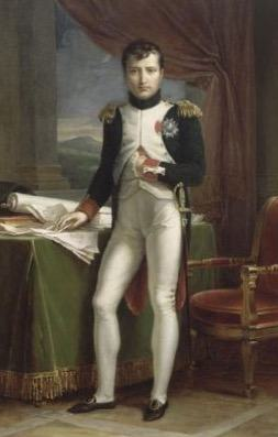 Napoleão Bonaparte quando mais jovem