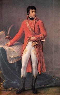 Imagem de Napoleão agora imperador