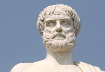 Escultura de Aristóteles
